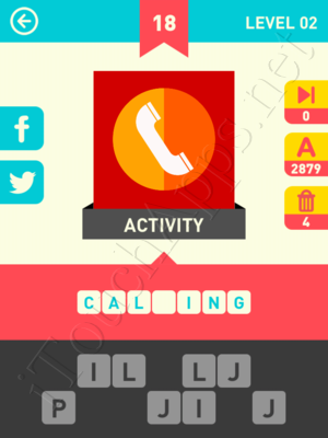 Icon Pop Word Level Level 2 Pic 18 Answer