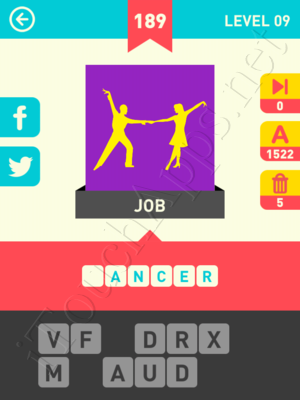 Icon Pop Word Level Level 9 Pic 189 Answer