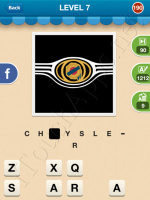 Hi Guess the Brand Level Level 7 Pic 190 Answer