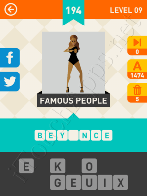Icon Pop Mania Level Level 9 Pic 194 Answer