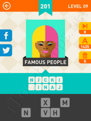 Icon Pop Mania Level Level 9 Pic 201 Answer