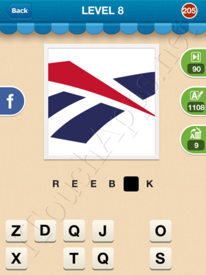 Hi Guess the Brand Level Level 8 Pic 205 Answer