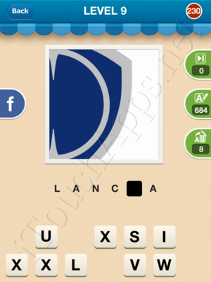 Hi Guess the Brand Level Level 9 Pic 230 Answer