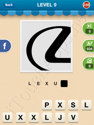Hi Guess the Brand Level Level 9 Pic 238 Answer