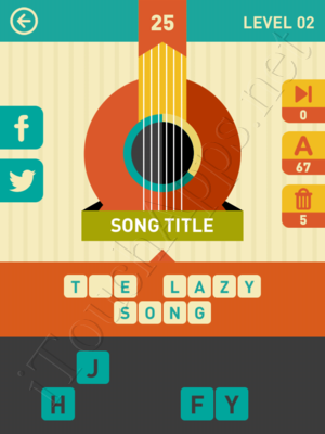 Icon Pop Song Level Level 2 Pic 25 Answer