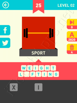 Icon Pop Word Level Level 2 Pic 25 Answer