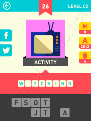 Icon Pop Word Level Level 2 Pic 26 Answer
