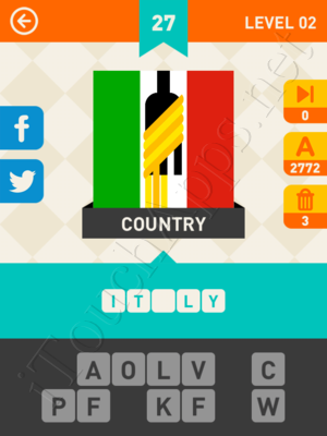 Icon Pop Mania Level Level 2 Pic 27 Answer