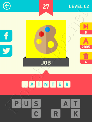 Icon Pop Word Level Level 2 Pic 27 Answer