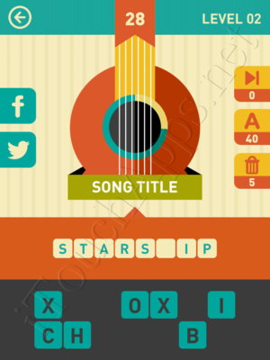 Icon Pop Song Level Level 2 Pic 28 Answer