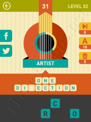 Icon Pop Song Level Level 2 Pic 31 Answer