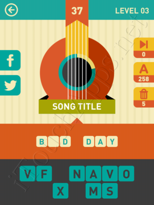 Icon Pop Song Level Level 3 Pic 37 Answer