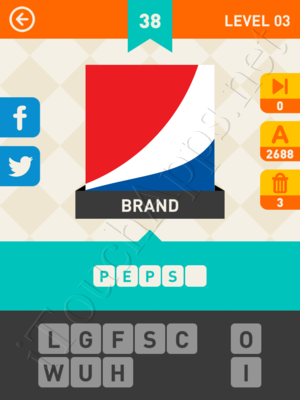 Icon Pop Mania Level 3 Pic 38 Answer