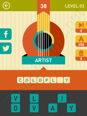 Icon Pop Song Level Level 3 Pic 38 Answer