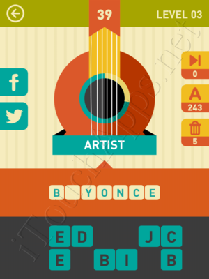 Icon Pop Song Level Level 3 Pic 39 Answer