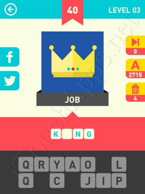 Icon Pop Word Level Level 3 Pic 40 Answer