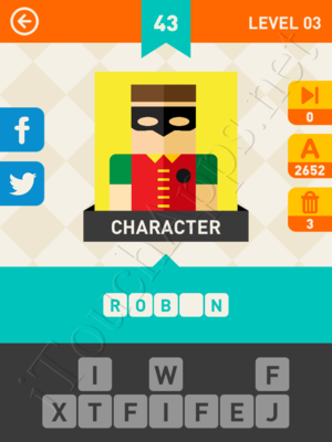 Icon Pop Mania Level Level 3 Pic 43 Answer
