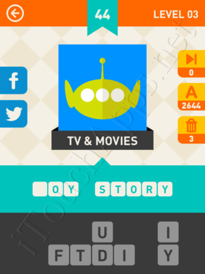 Icon Pop Mania Level Level 3 Pic 44 Answer