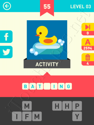 Icon Pop Word Level Level 3 Pic 55 Answer