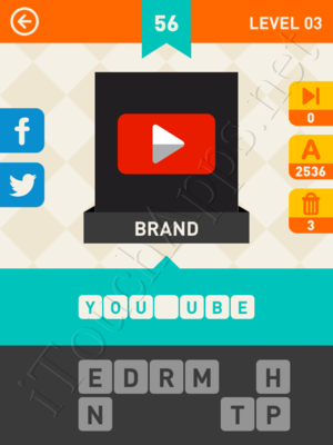 Icon Pop Mania Level Level 3 Pic 56 Answer