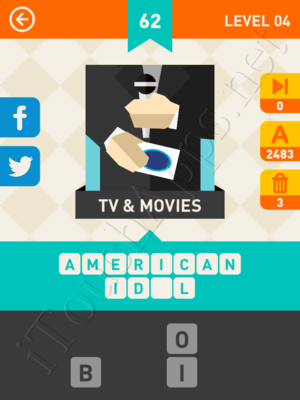 Icon Pop Mania Level Level 4 Pic 62 Answer