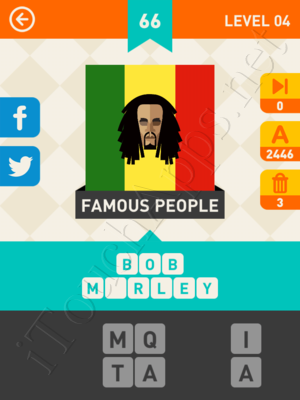 Icon Pop Mania Level Level 4 Pic 66 Answer