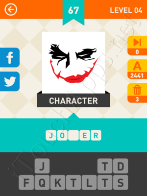Icon Pop Mania Level Level 4 Pic 67 Answer