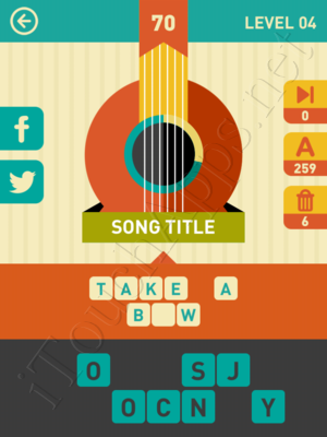 Icon Pop Song Level Level 4 Pic 70 Answer