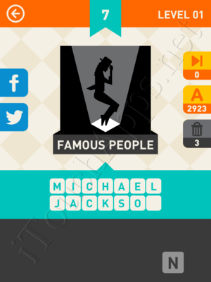 Icon Pop Mania Level Level 1 Pic 7 Answer