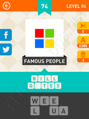 Icon Pop Mania Level Level 4 Pic 74 Answer