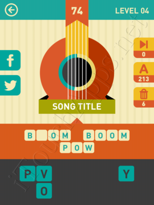 Icon Pop Song Level Level 4 Pic 74 Answer