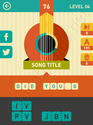 Icon Pop Song Level Level 4 Pic 76 Answer