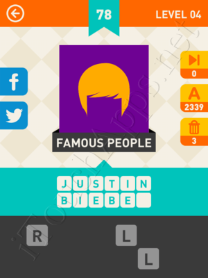 Icon Pop Mania Level Level 4 Pic 78 Answer