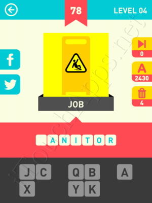 Icon Pop Word Level Level 4 Pic 78 Answer