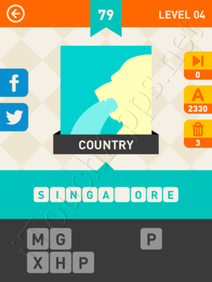 Icon Pop Mania Level 4 Pic 79 Answer