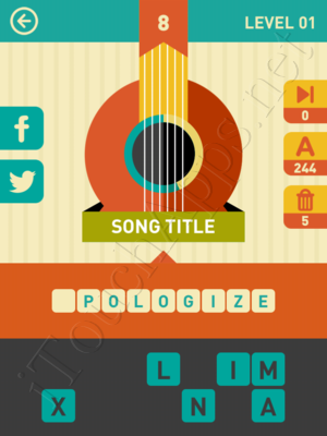 Icon Pop Song Level Level 1 Pic 8 Answer