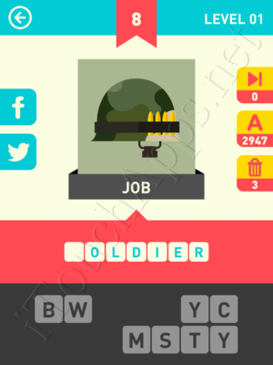 Icon Pop Word Level Level 1 Pic 8 Answer