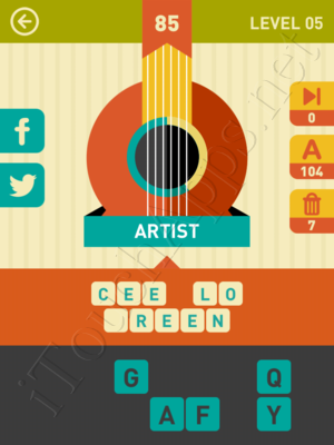 Icon Pop Song Level Level 5 Pic 85 Answer