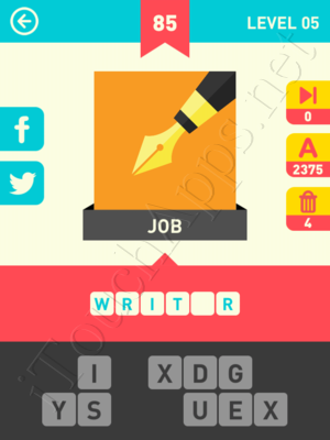 Icon Pop Word Level Level 5 Pic 85 Answer