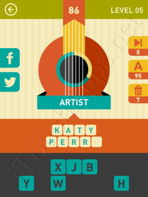 Icon Pop Song Level Level 5 Pic 86 Answer