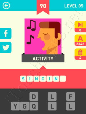 Icon Pop Word Level Level 5 Pic 90 Answer