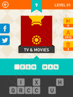 Icon Pop Mania Level Level 1 Pic 9 Answer