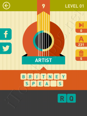 Icon Pop Song Level Level 1 Pic 9 Answer