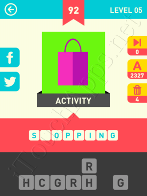 Icon Pop Word Level Level 5 Pic 92 Answer