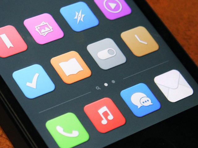 iOS 7 Mockup