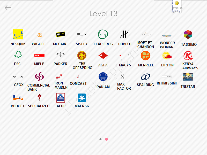 logos quiz answers: level 13 part 2