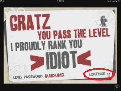 The Idiot Test 3 Level 1 Walkthrough - End