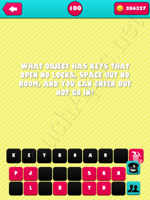 What the Riddle Level 100 Answer