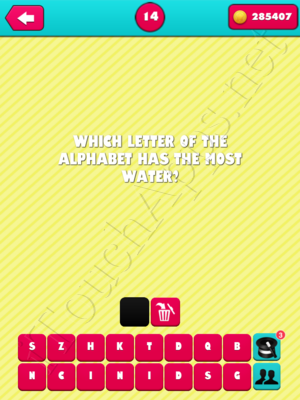 What the Riddle Level 14 Answer