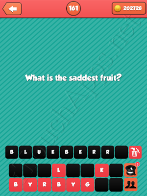 Riddle Me That Level 161 Answer